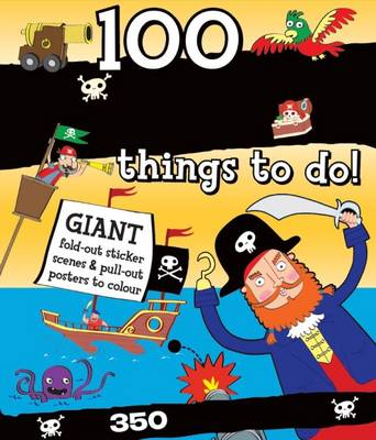Spiral Bound Activity 100 Pirate Things to Do by