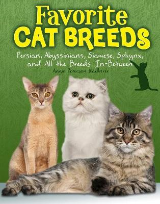 Favourite Cat Breeds Persians, Abyssinians, Siamese, Sphynx, and all the Breeds In-Between by Angie Peterson Kaelberer