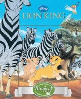Disney Lion King Magical Story with Lenticular by