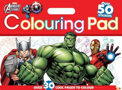 Marvel Colouring Pad by Parragon