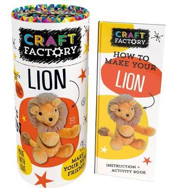 Craft Factory Lion by Parragon Books Ltd