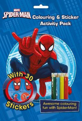 Marvel Spider-Man Colouring & Sticker Activity Pack Awesome Colouring Fun with Spider-Man! by Parragon Books Ltd