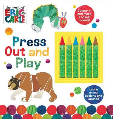 The World of Eric Carle Press Out and Play by Parragon Books Ltd