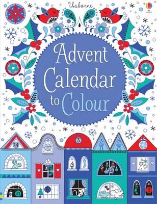 Advent Calendar to Colour by Stella Baggott