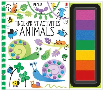 Fingerprint Activities Animals by Fiona Watt
