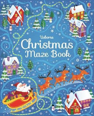 Christmas Maze Book by Sam Smith
