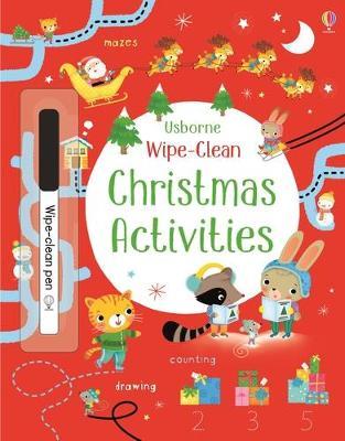 Wipe-Clean Christmas Activities by Kirsteen Robson