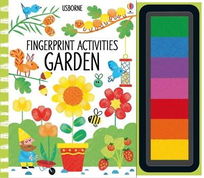 Fingerprint Activities: Garden by Fiona Watt