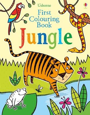 First Colouring Book Jungle by Alice Primmer