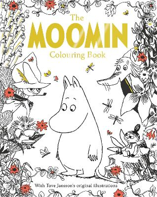The Moomin Colouring Book by Tove Jansson