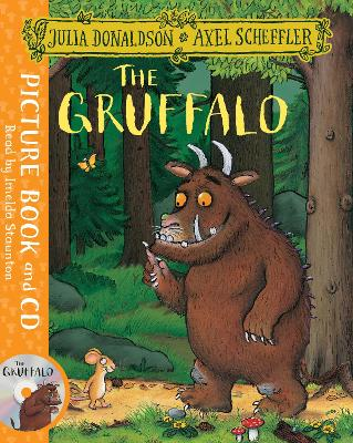 The Gruffalo Book and CD Pack by Julia Donaldson