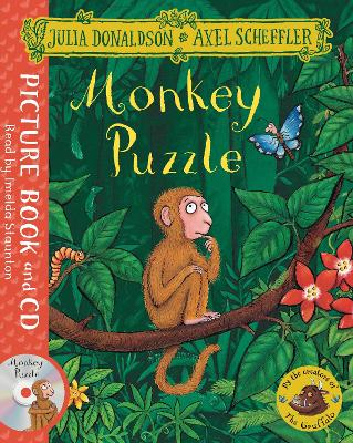 Monkey Puzzle Book and CD Pack by Julia Donaldson
