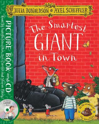 The Smartest Giant in Town Book and CD Pack by Julia Donaldson
