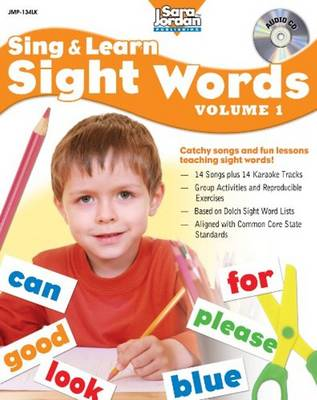 Sing & Learn Sight Words Volume 1 by Ed Butts