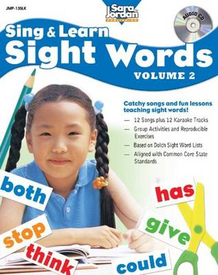 Sing & Learn Sight Words Volume 2 by Ed Butts