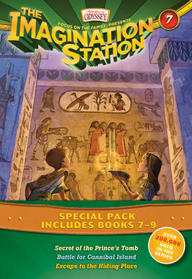 The Imagination Station Special Pack, Books 7-9 Secret of the Prince's Tomb/Battle for Cannibal Island/Escape to the Hiding Place by Marianne Hering, Marshal Younger, Wayne Thomas Batson