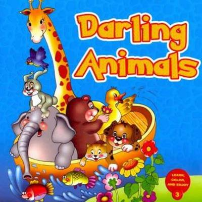 Darling Animals Learn and Color Series by Gulnaz Safak, Hasibe Gul