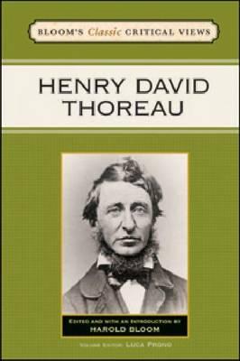 Henry David Thoreau by Prof. Harold Bloom