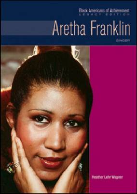 Aretha Franklin Singer by Heather Lehr Wagner