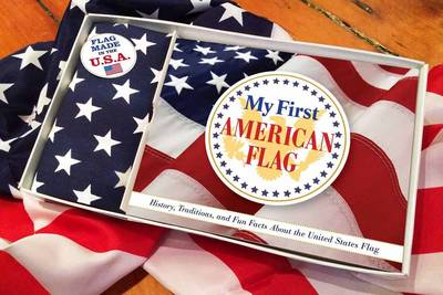 My First American Flag Kit A Celebration of the Stars and Stripes for Patriots by Applesauce Press