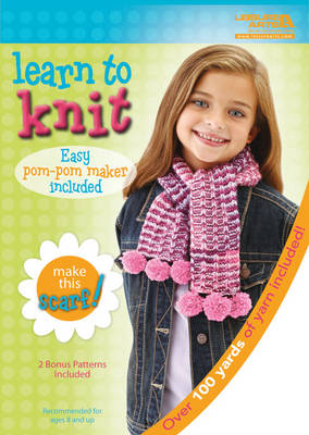 Learn to Knit: Scarf Kit by Leisure Arts