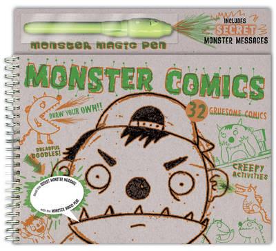 Monster Comics by Mike Herrod
