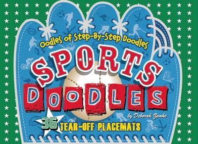 Sports Doodles 36 Tear-Off Placemats by Deborah Zemke