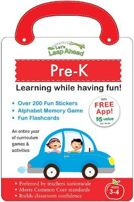 Let's Leap Ahead: Pre-K Learning While Having Fun! Pre-K Learning While Having Fun! by Alex A. Lluch
