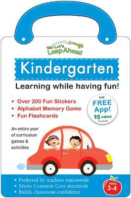 Let's Leap Ahead: Kindergarten Learning While Having Fun! by Alex A. Lluch