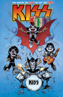 Kiss Kids by Jose Holder, Tom Waltz, Chris Ryall