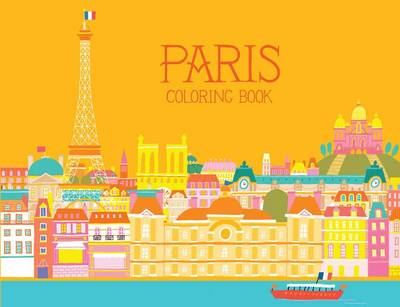 Paris Coloring Book by Min Heo