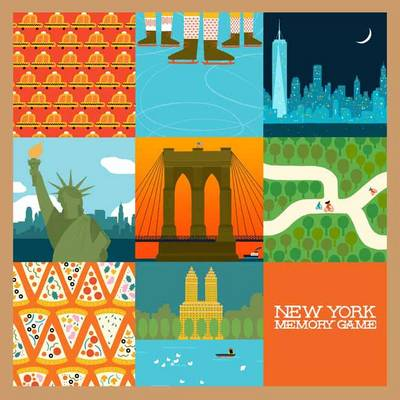 New York Memory Game by Min Heo