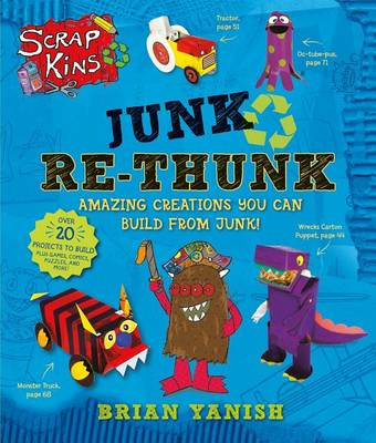 Junk Re-Thunk ScrapKins by Brian Yanish