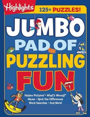 Jumbo Pad of Puzzling Fun by Highlights