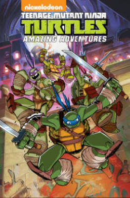Teenage Mutant Ninja Turtles Amazing Adventures by Sina Grace, Ben Costa, Chad Thomas, James Kochalka