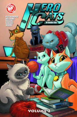 Hero Cats Volume 2 by Kyle Puttkammer, Marcus Williams