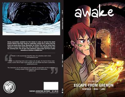 Awake Escape from Gremon by Susan Beneville, Brian Hess