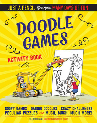 Doodle Games Activity Book by Joe Rhatigan