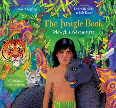 The Jungle Book: Mowgli's Adventures by Joe Rhatigan, Charles Nurnberg