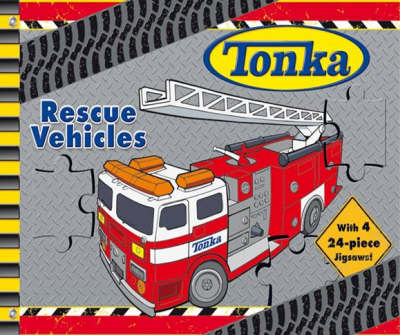Tonka Rescue Vehicles Deluxe Jigsaw Book by