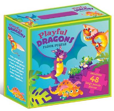 Playful Dragons Floor Puzzle by Five Mile Press The