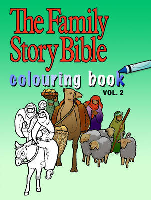 The Family Story Bible Colouring Book by Margaret Kyle