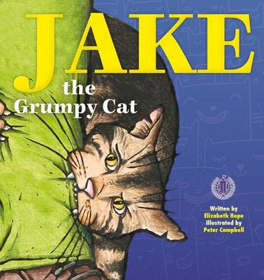 Jake the Grumpy Cat by Elizabeth Hope