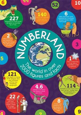 Numberland by Marianne Taylor, Clive Gifford, Steve Martin