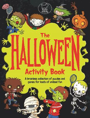 The Halloween Activity Book by Lauren Farnsworth