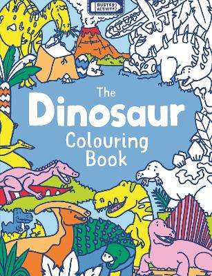 The Dinosaur Colouring Book by Jake McDonald