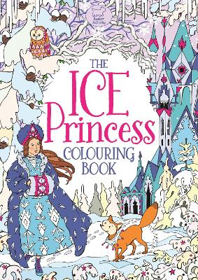 The Ice Princess Colouring Book by Ann Kronheimer