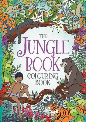 The Jungle Book Colouring Book by Ann Kronheimer