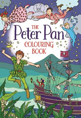 The Peter Pan Colouring Book by Ann Kronheimer