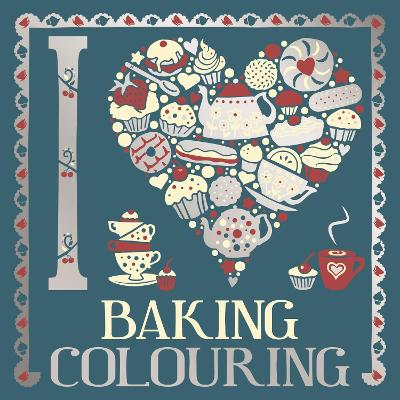 I Heart Baking Colouring by